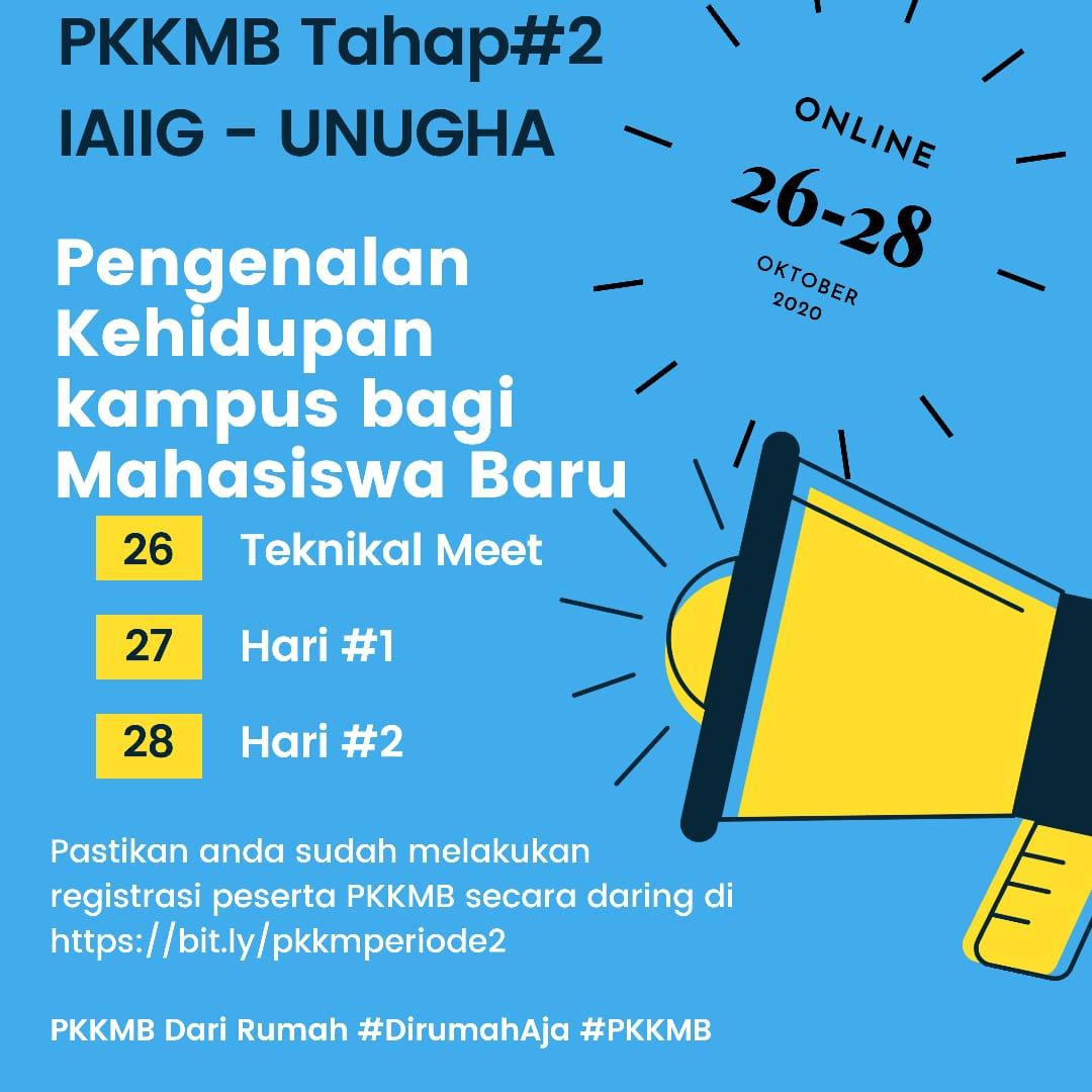 PKKMB Tahap#2 Tahun akademik 2020